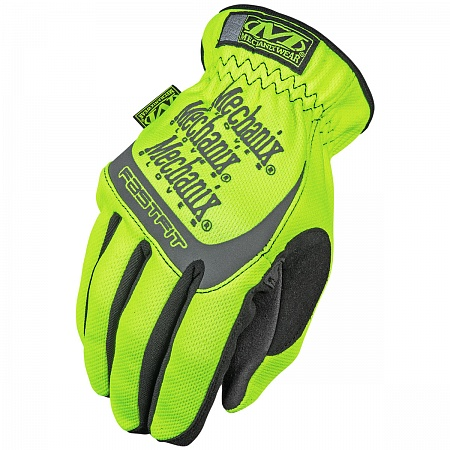 Перчатки Mechanix Safety FastFit, Yellow/Black