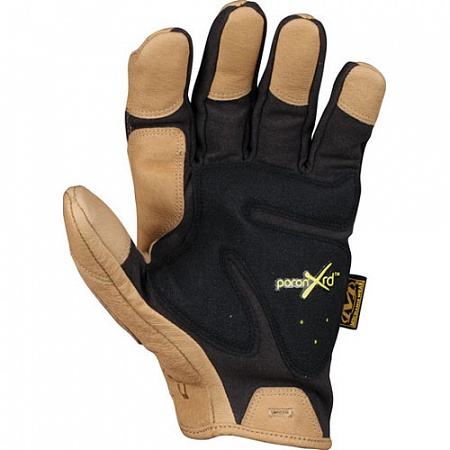 Перчатки Mechanix CG Padded Palm, Black/Brown